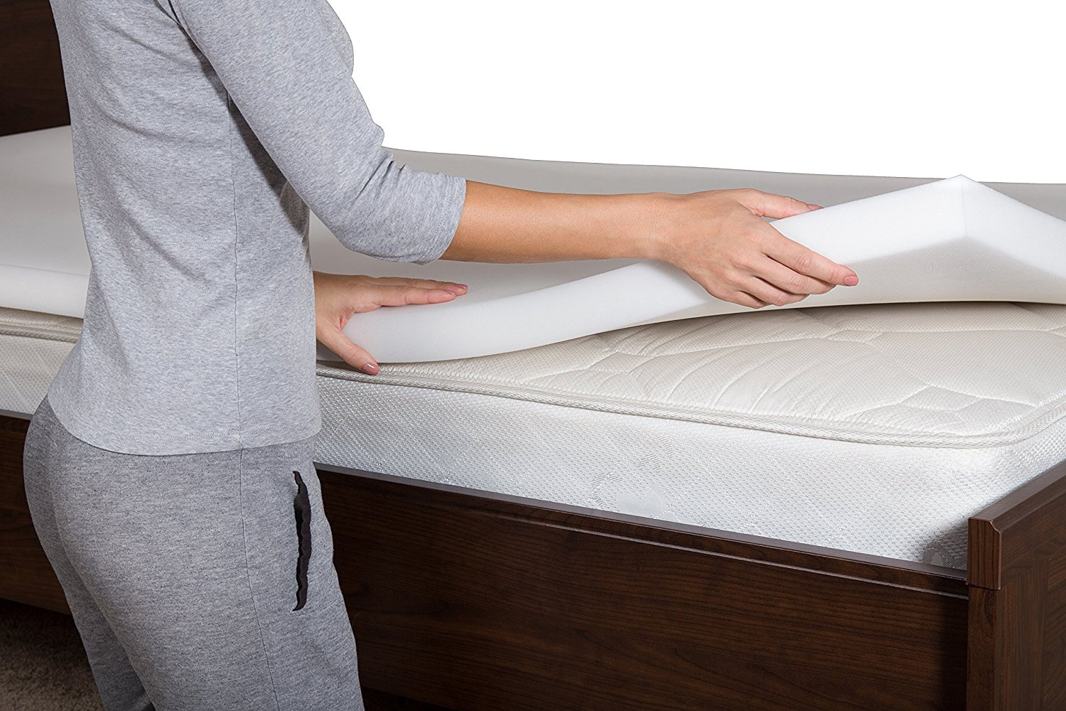 Memory Foam Mattress Toppers Pharmedoc Memory Foam Mattress Topper
