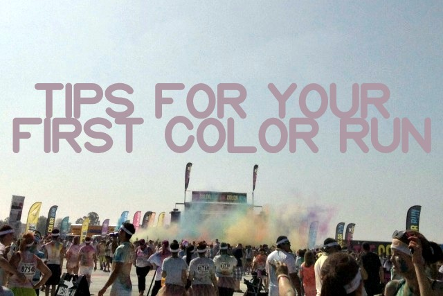 Tips for The Color Run from Kam of Campfire Chic