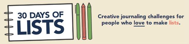 Creative journaling challenge