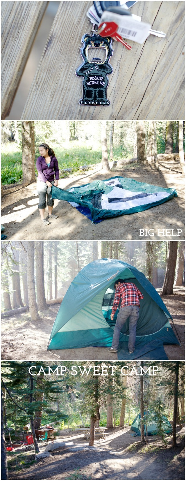 Crane Flat Campground in Yosemite National Park - Campfire Chic