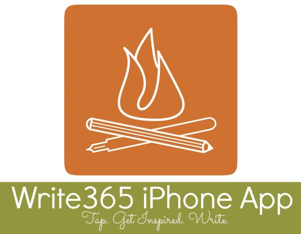 Creative Writing Prompts iPhone App - Campfire Chic