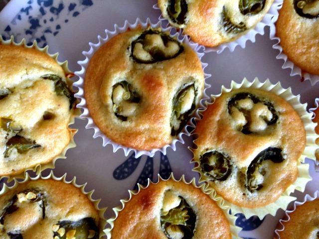 Jalepeno Cornbread Muffins - Campfire Chic
