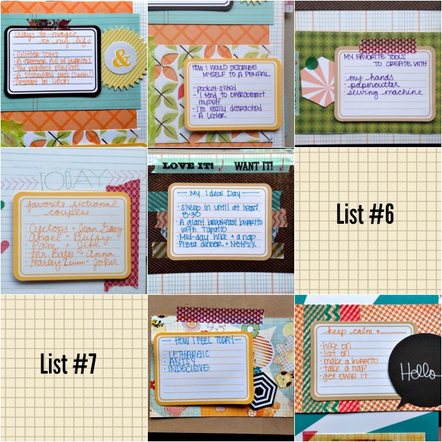March 2014 30 Days of Lists - Campfire Chic