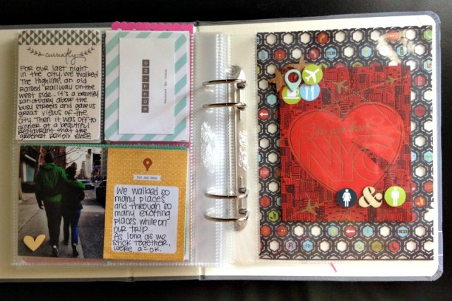Project Life Cards for NYC Travel Album - Campfire Chic