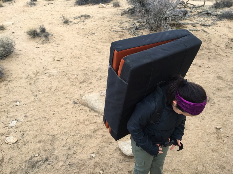 Organic Crash Pad in Joshua Tree National Park - Bouldering with Campfire Chic