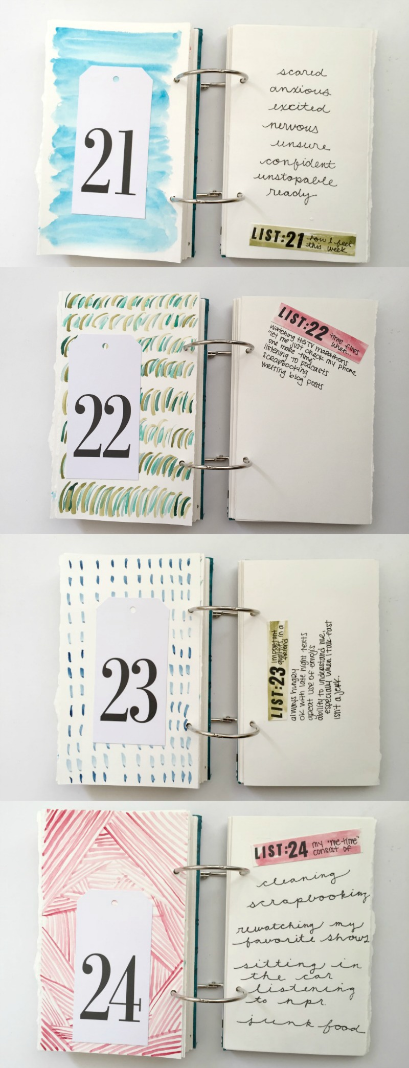 March 2016 Edition of 30 Days of Lists - Creative Journaling Challenge for People Who Love to Make Lists - Campfire Chic