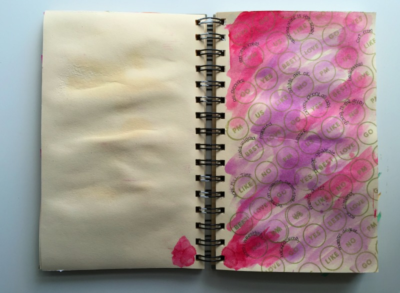 Messy Lists Art Journaling and Creative List Challenge - Week 2 Prompts with Campfire Chic