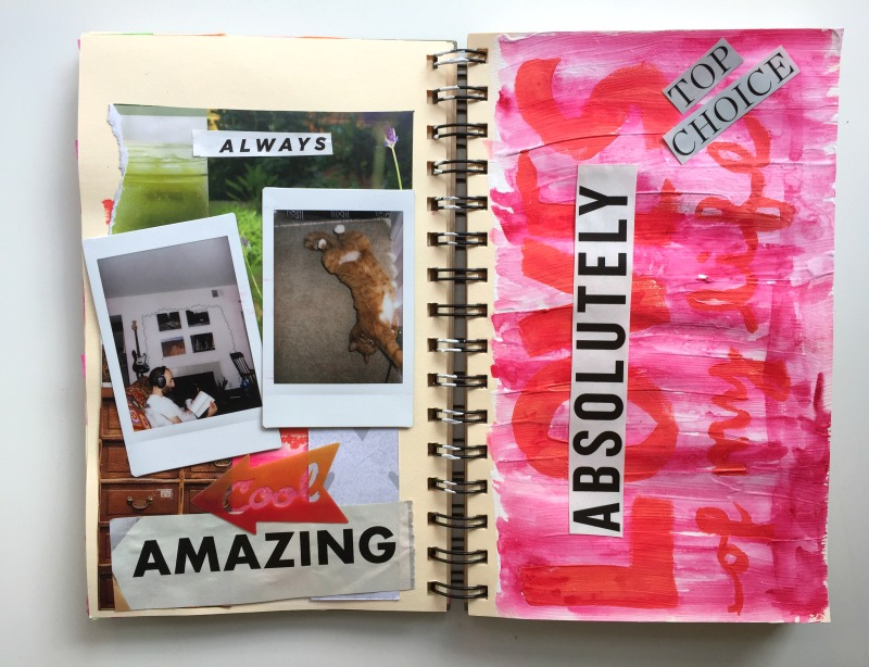 Messy Lists Art Journal Prompts for Week 2 - Campfire Chic