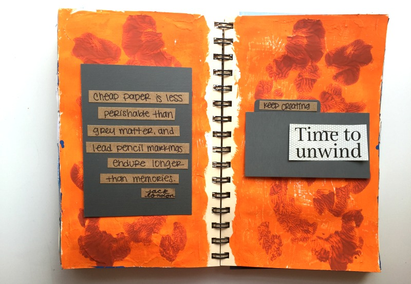 Get Messy Art Journal - Messy Lists with Campfire Chic