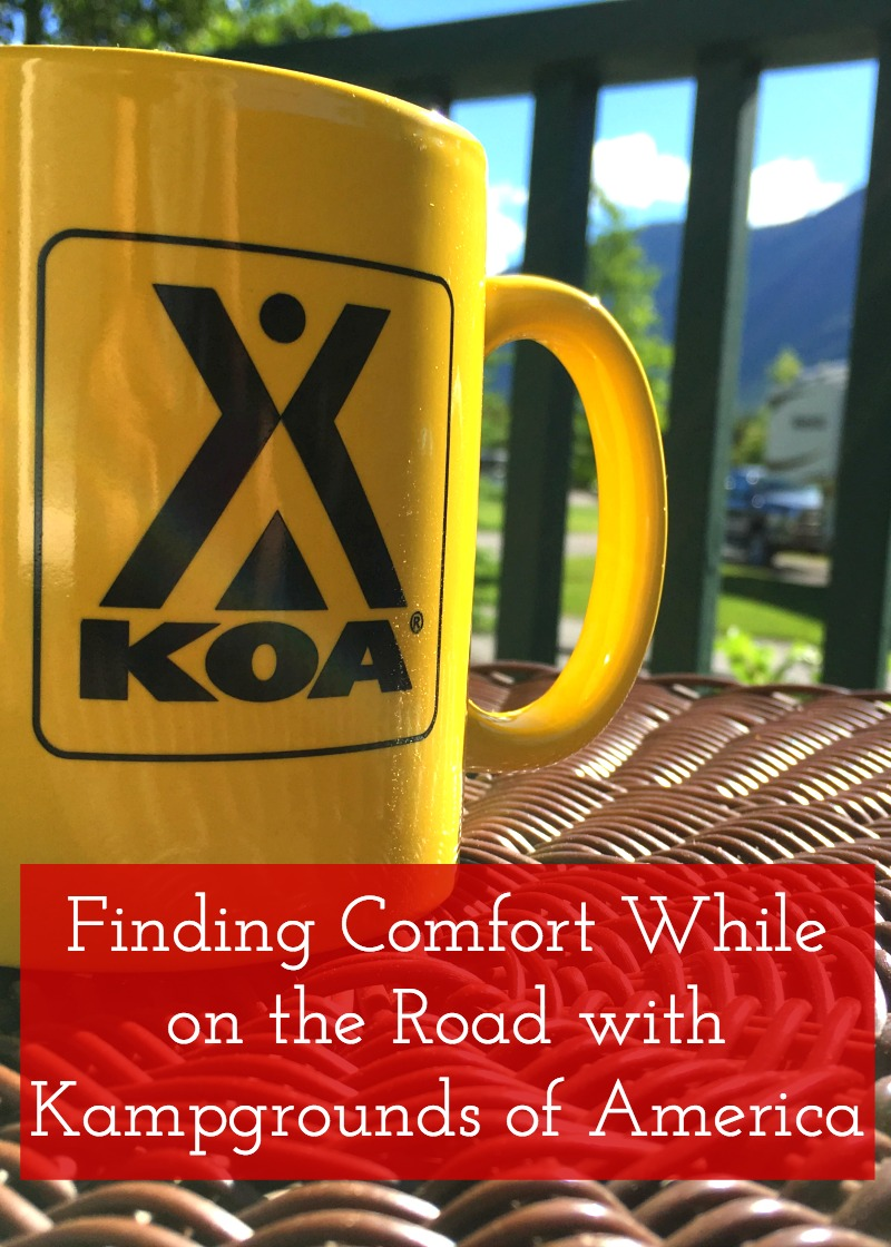 Finding Comfort While on the Road with Kampgrounds of America - Campfire Chic