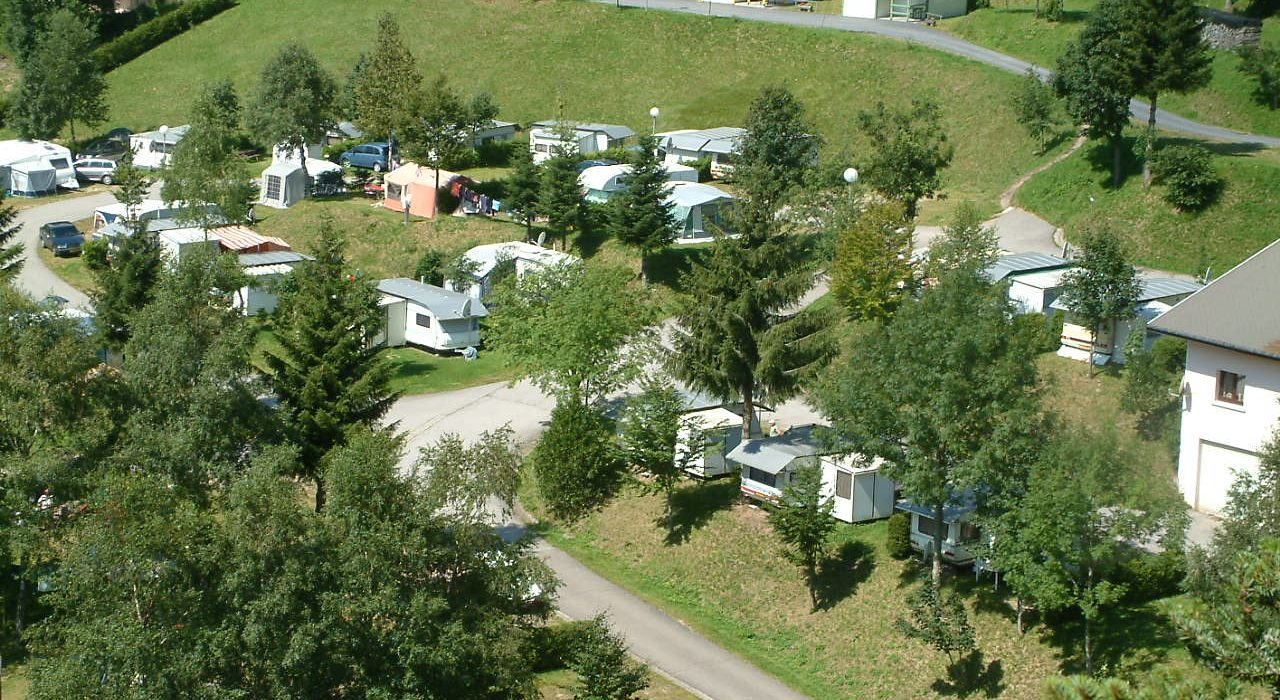 Camping Met Zwembad Zwarte Woud Zomer Camping Camping Belle Hutte