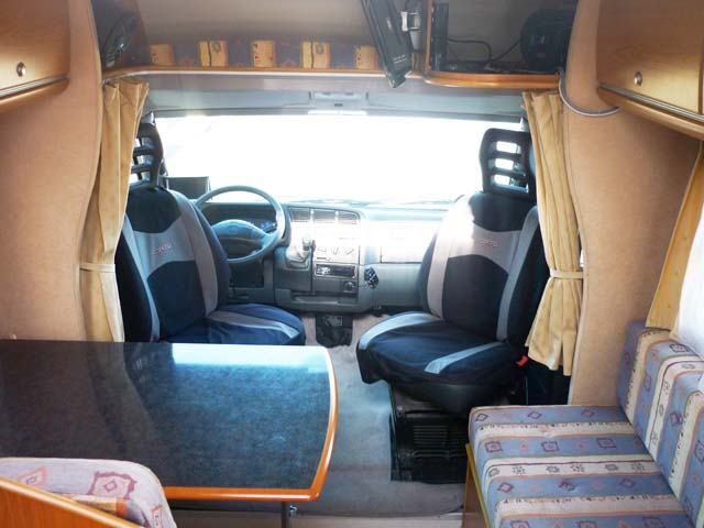 Camping Car Fiat Pilote Pacific P8 2001 | Camping-car Profilé Occasion