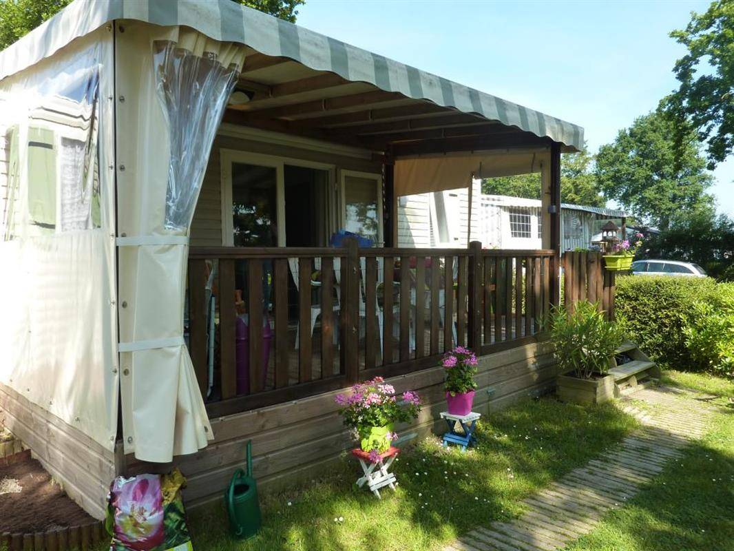 Mobil Home Rideau Camping Du Lac Du Jaunay Mobile Home Rideau With Lake View