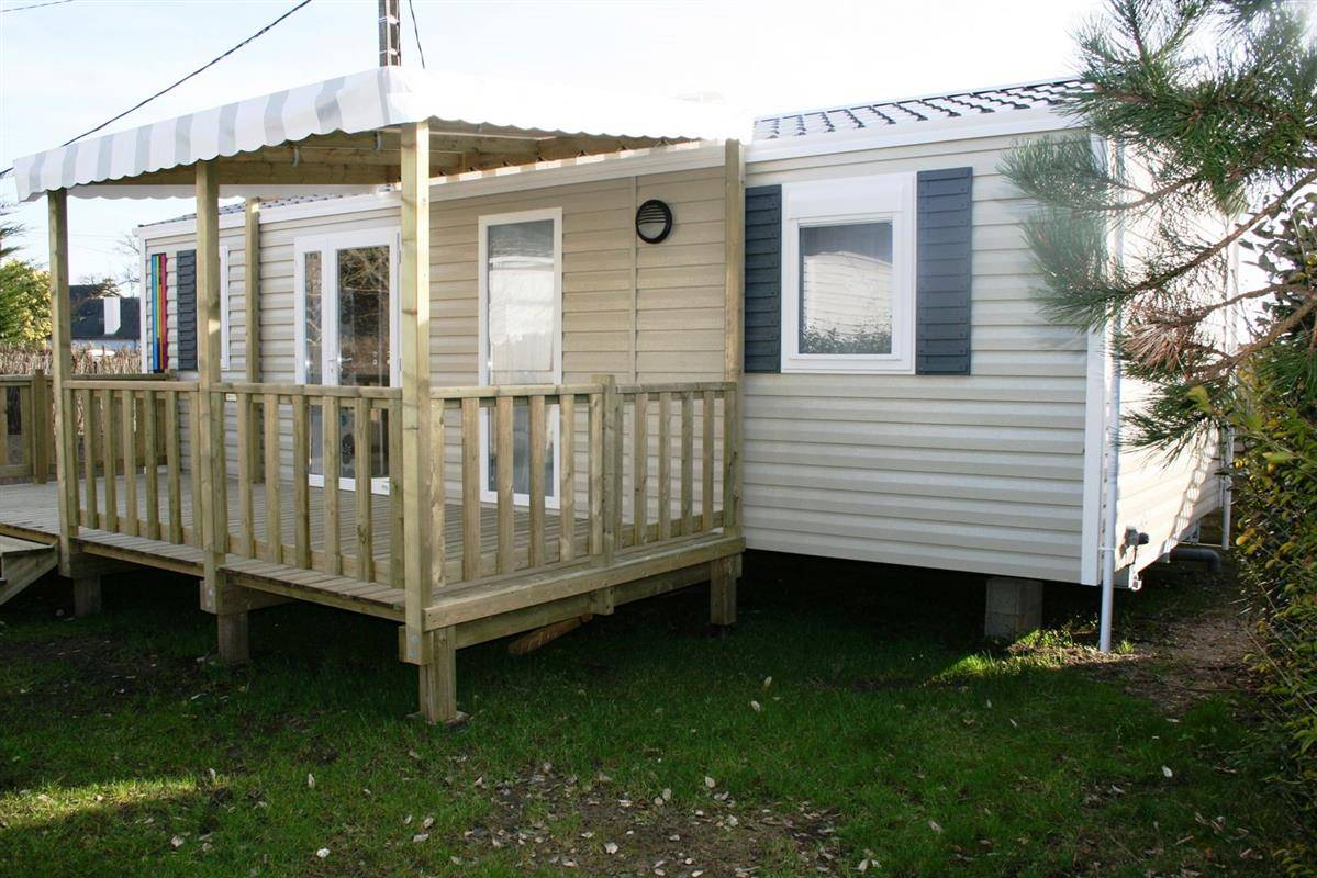 Mobil Home Rideau Camping Soir D été Sale Mobile Home Rideau 33m² With 3 Bedrooms
