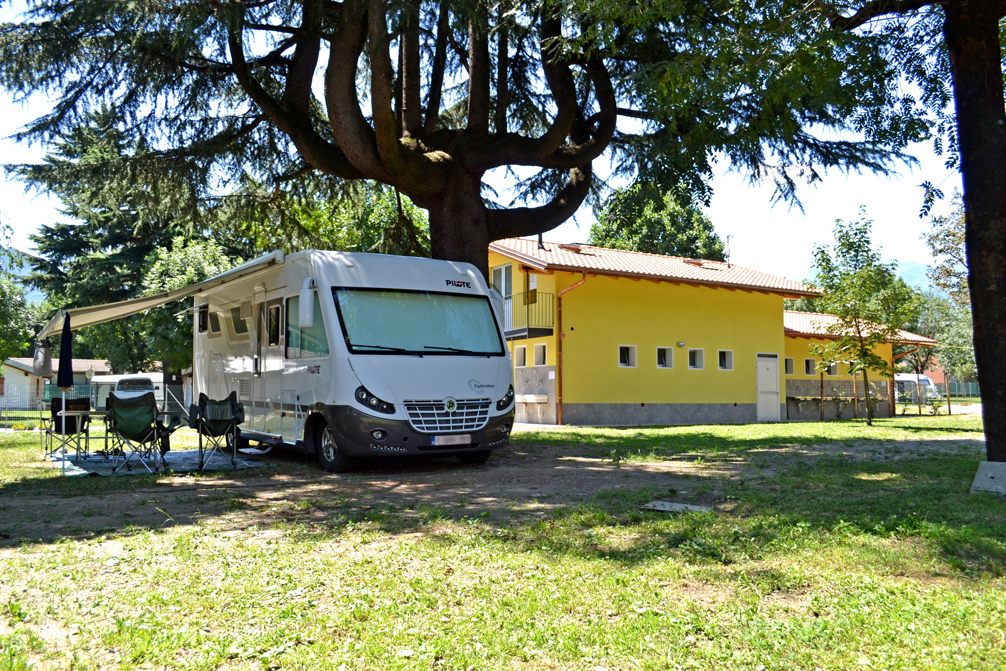 Camping Bellagio Camping Domaso Comer See Golden Sheep Camping