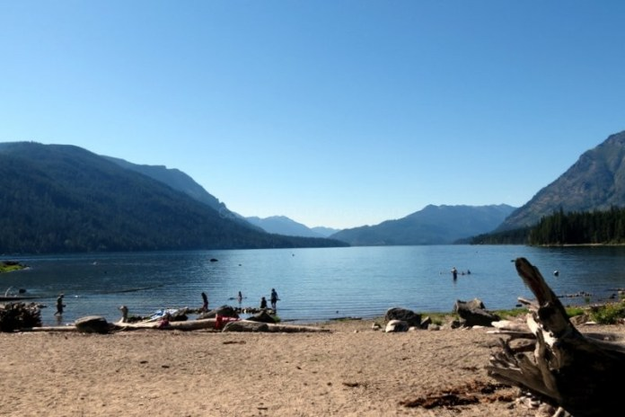 Lake Wenatchee North Side Beach