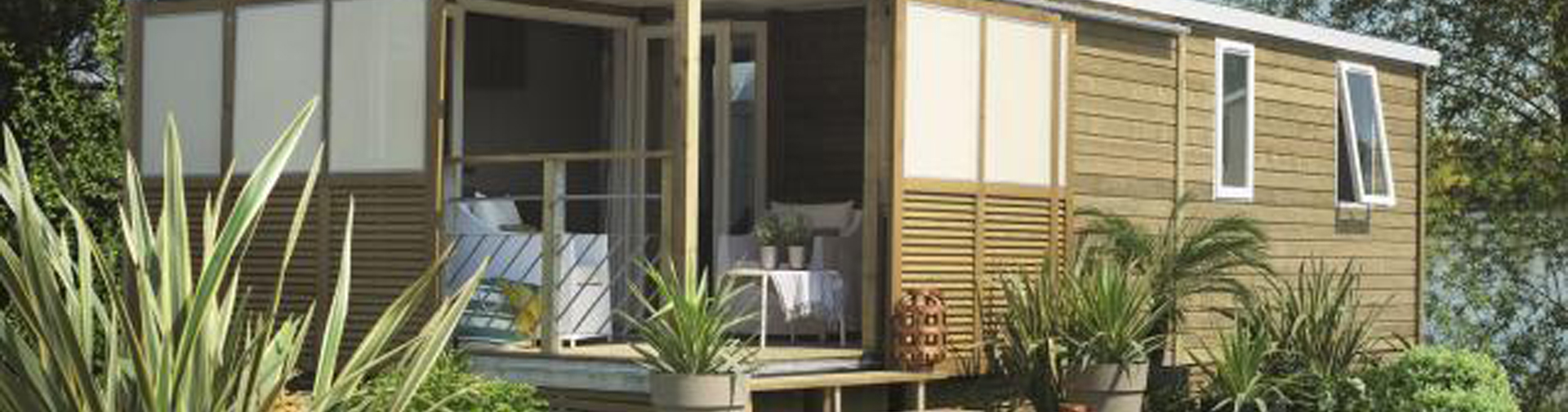 Modele Terrasse Rental Mobile Home 6 Persons Island Of Oleron Camping Phare