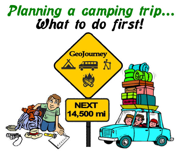 Planning a Camping Trip 1st steps to do VIDEO