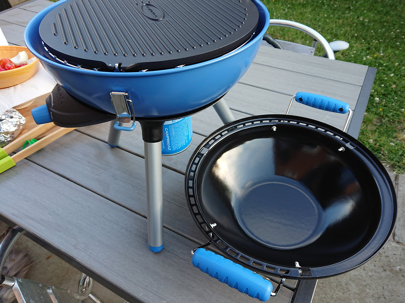 Campinggaz Grill Camping Gear Putting The Campingaz Party Grill To The Test