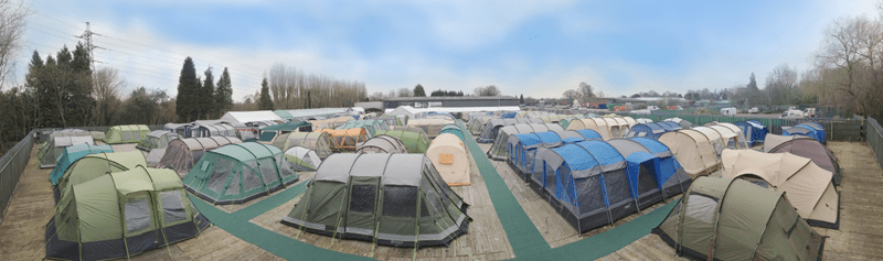 Furniture Stores South East Uk Where Can I See Tents On Display In The South East?