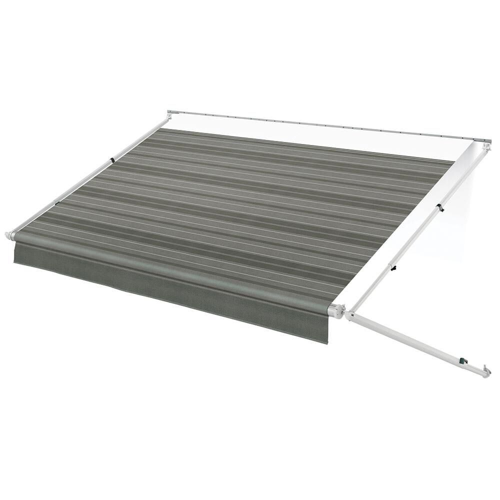 Garage Awning Extension Dometic Geared Sunchaser Patio Awning With White Vinyl Weathershield