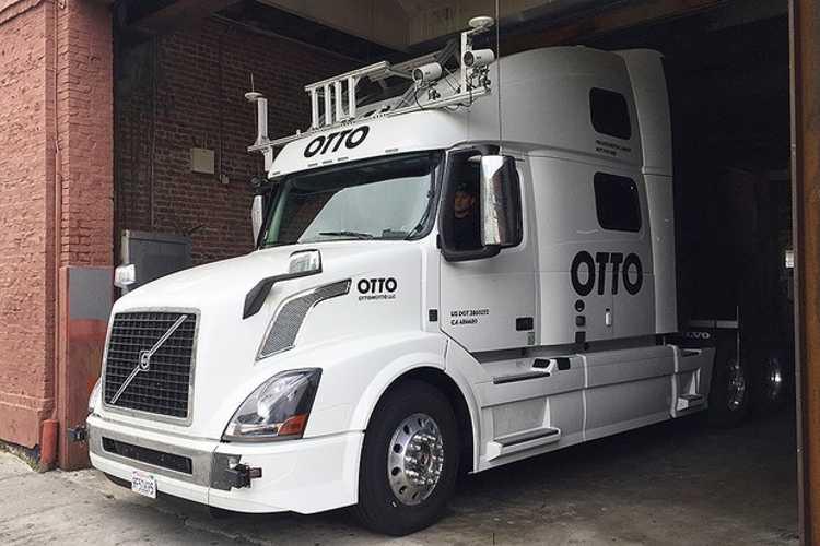 Caminhão Uber Otto (Foto: Divulgação)