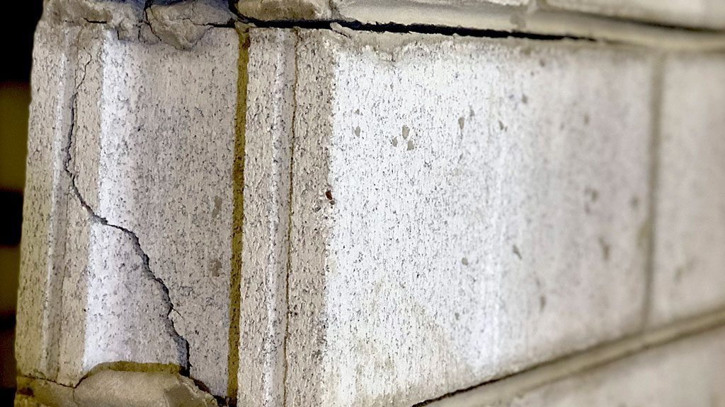 Engineering student tests masonry walls, examines ways to improve