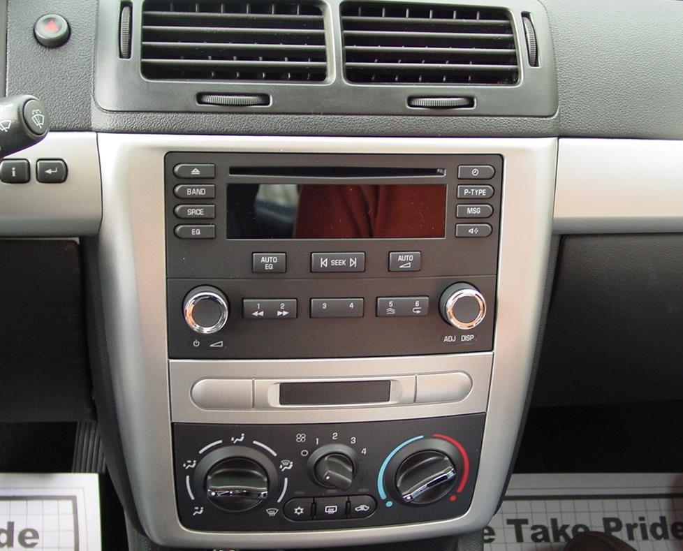 2005-2010 Chevrolet Cobalt Car Audio Profile