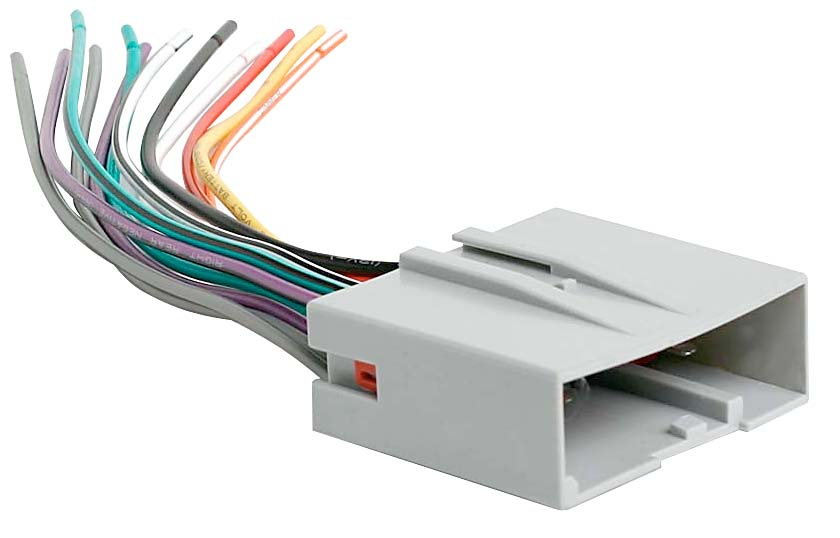 Metra Wiring Harness Ford Diagram - Wiring Solutions