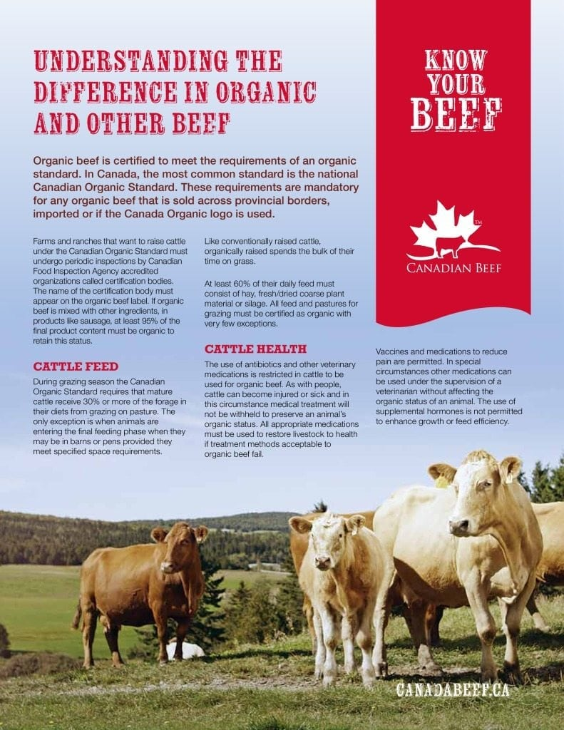 Fact Sheets Canadian Beef Canada Beef