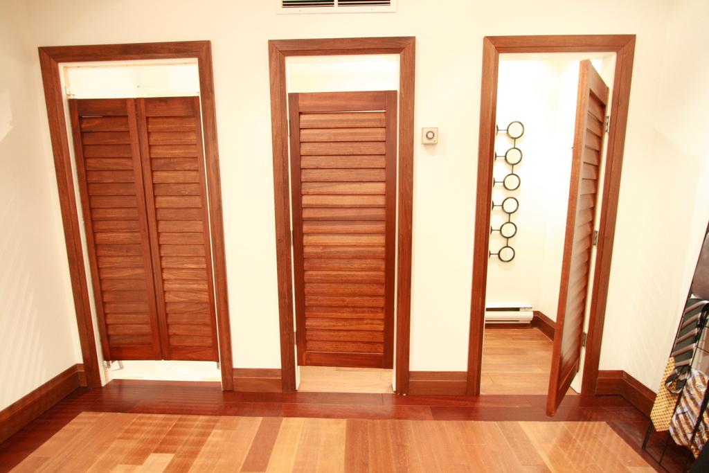 simple yet popular interior french doors