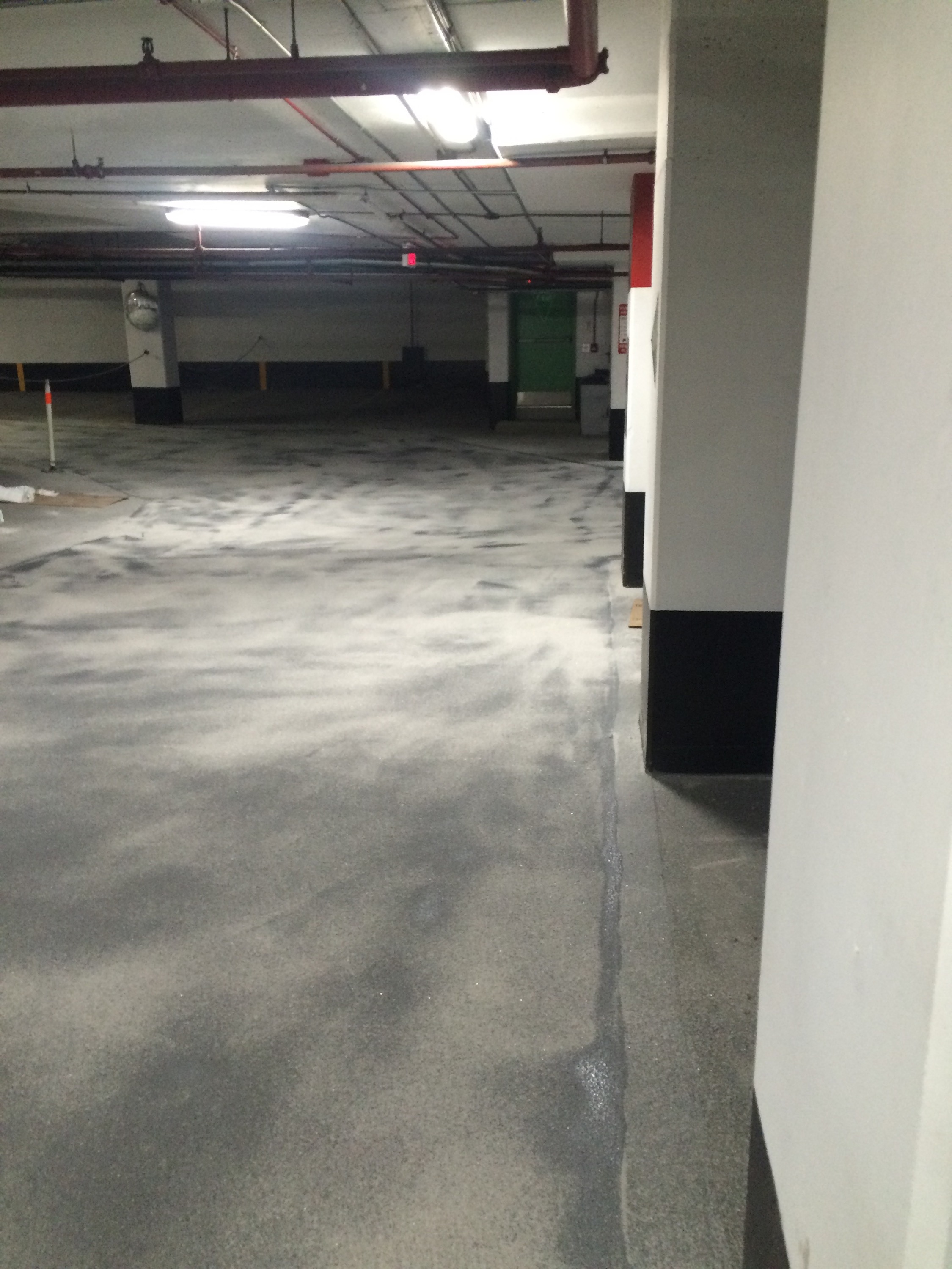 Epoxy Garage Floor Toronto Parking Garage Floor Toronto Main Exit Ramp Waterproof Traffic