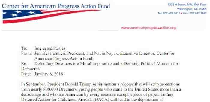 Democrats must embrace DREAMers or face doom, says secret left-wing memo - strategy memo