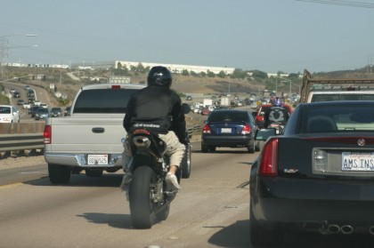 Lane splitting: Coming to Nevada next, hopefully, and then the rest of North America?