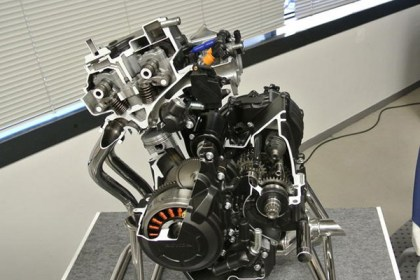 Here's what the new 400 motor is supposed to look like. Photo: Hell for Leather