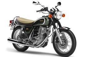 This is the 35th Anniversary edition of the SR400 that was introduced last January. It seems the buzz about the bike is mostly positive, but some riders have concerns about the lack of electric start. If the bike doesn't come to Canada, though, we're betting the real culprit is pricing.