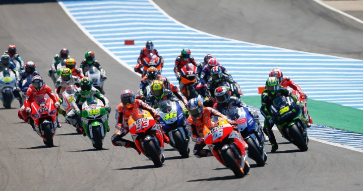 Spaniards continued their dominance of MotoGP at Jerez. Photo; MotoGP