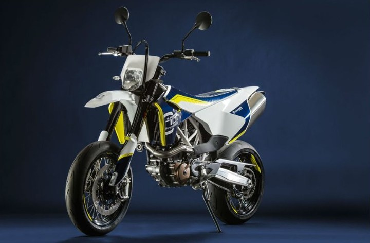 Husqvarna gives ETA for 701 supermoto