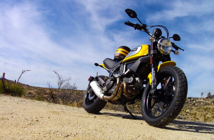 New 1100 Scrambler in the works?