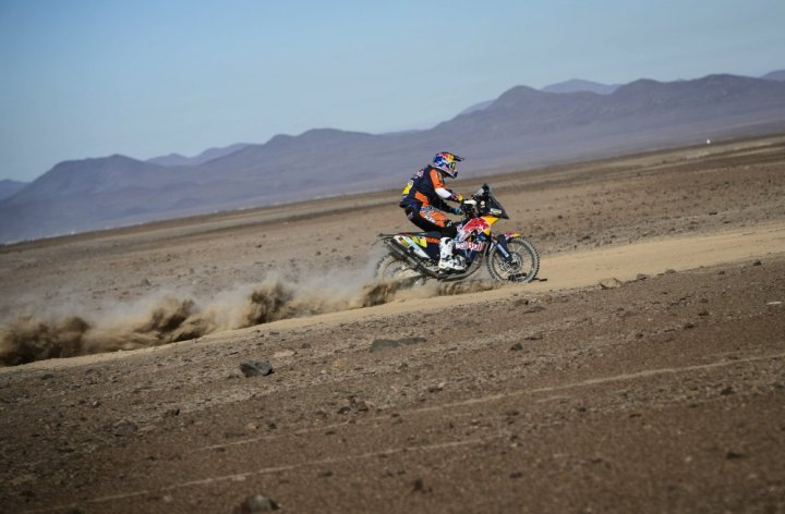 Dakar, Stage Five: All in, or not?