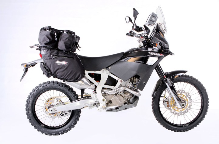 CCM GP450 adventure bike finally approved for Canadian roads