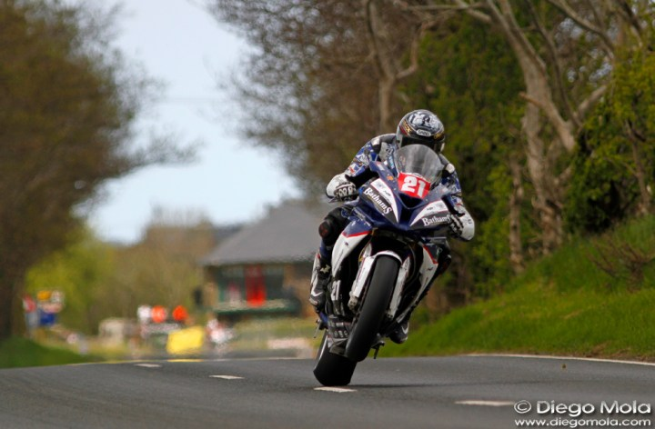 Dan Kruger performs well at Northwest 200