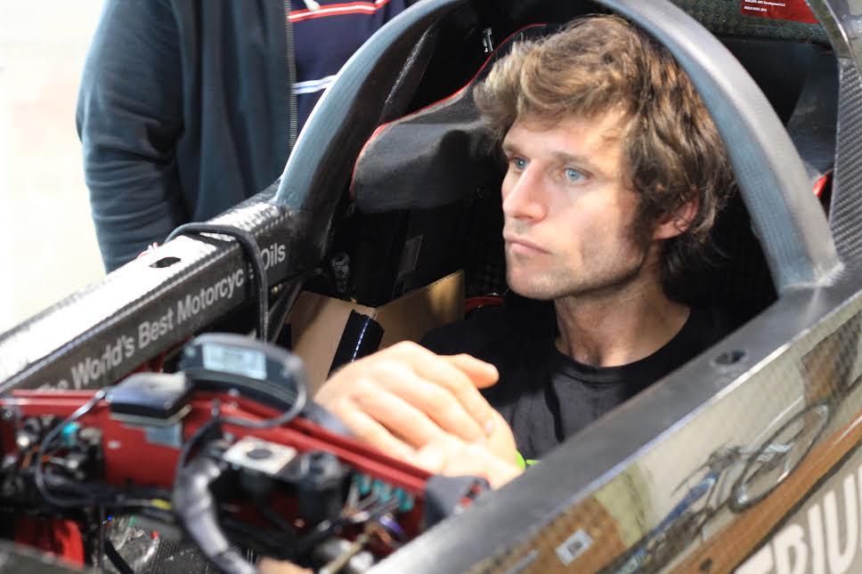 Crash interrupts Guy Martin land speed attempt