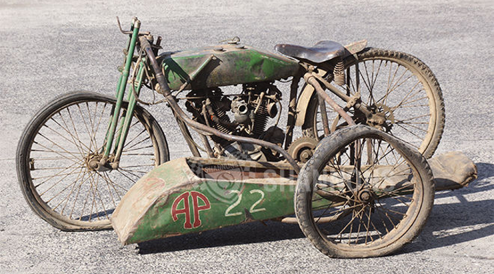 Harley-Davidson race bike sells for record amount Down Under