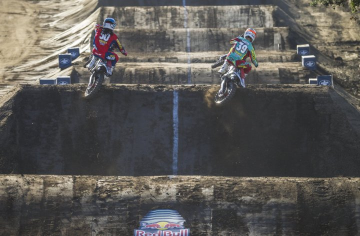 Stewart brothers dominate at Red Bull Straight Rhythm