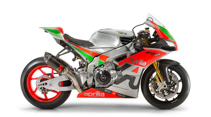 EICMA: Aprilia RSV4R now available as factory racebike