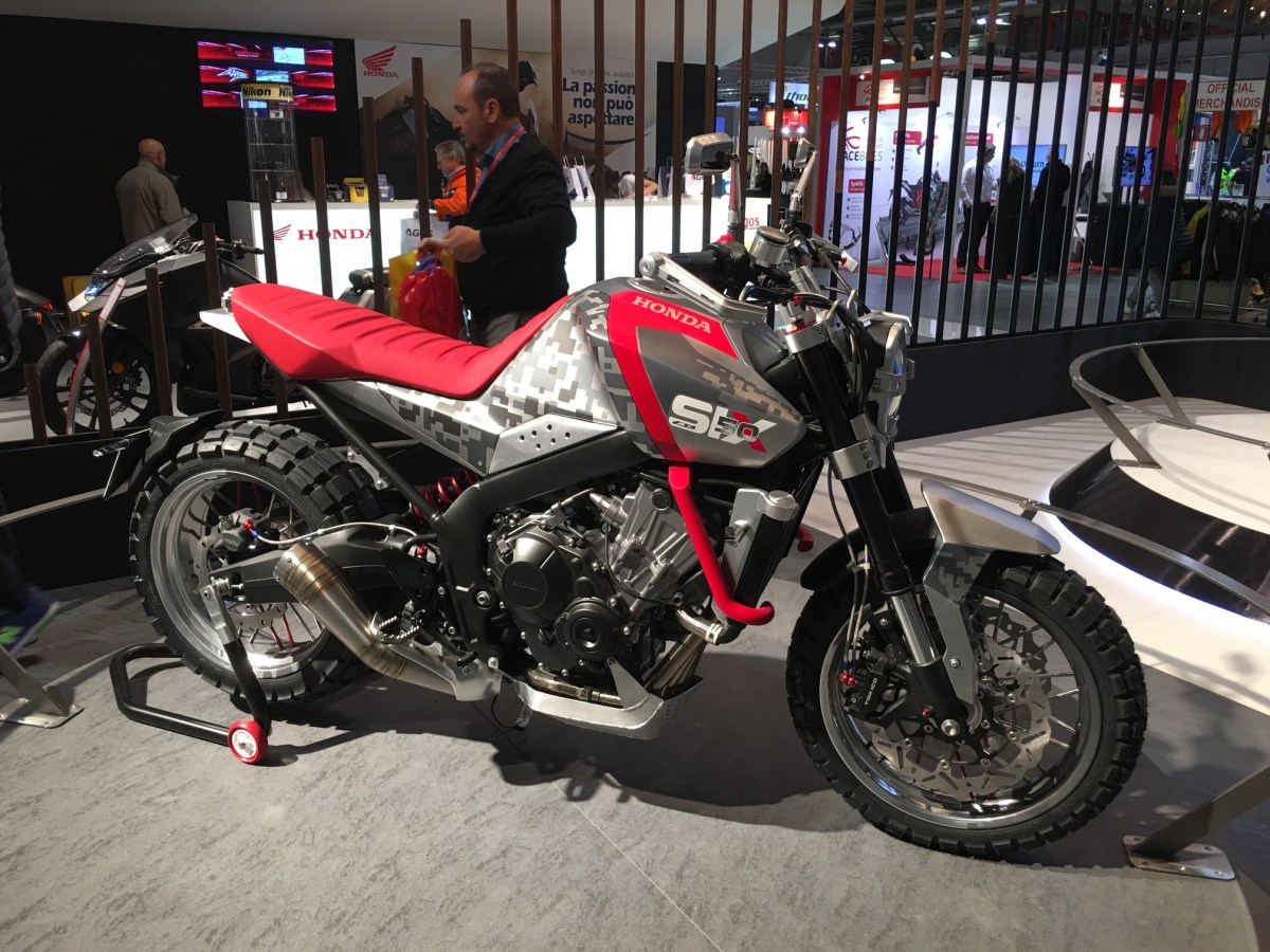 EICMA: Honda concepts, Part 2 -- what's this, another adventure bike?