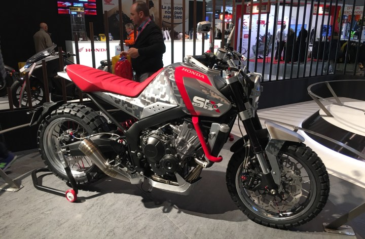 EICMA: Honda concepts, Part 2 — what's this, another adventure bike?