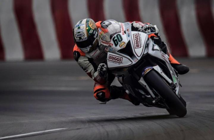 Peter Hickman wins Macau GP