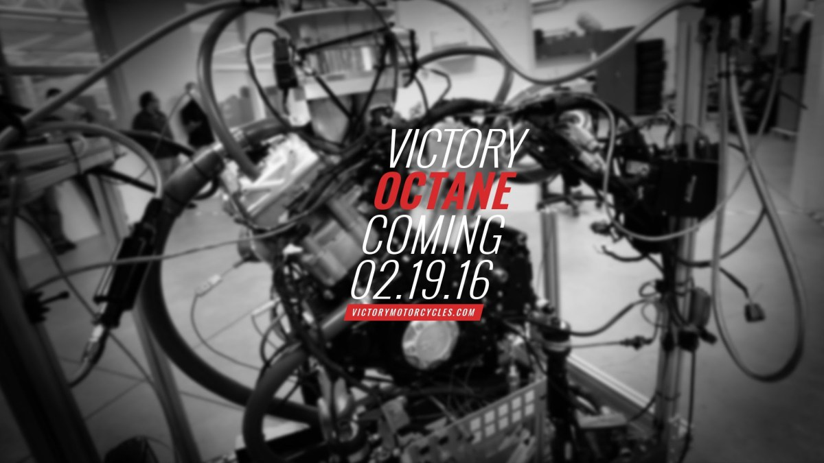 New Victory octane teaser
